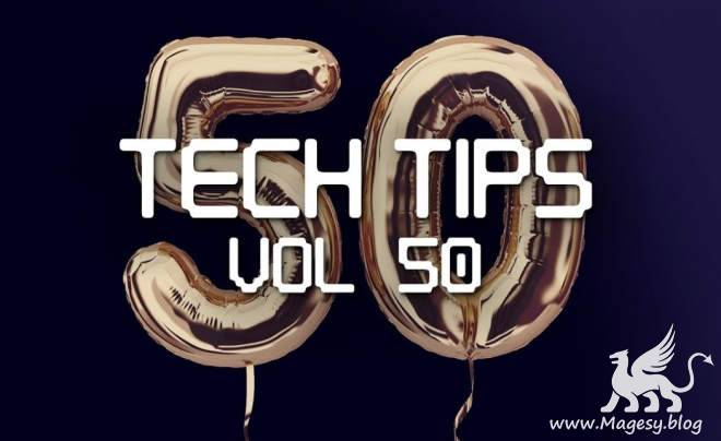 Tech Tips Vol.50 TUTORiAL-SYNTHiC4TE