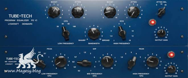 Tube-Tech PE 1C EQ AU VST RTAS TDM macOS-UNPACED