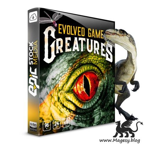 Evolved Game Creatures WAV