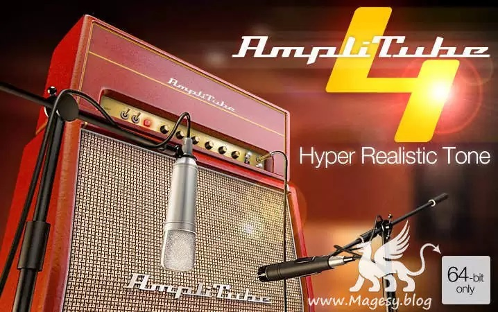 AmpliTube 4 v4.10.0b WiN MAC-R2R