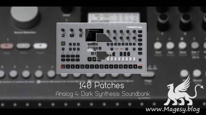 Dark Synthesis for Analog Four Keys SYX-DECiBEL