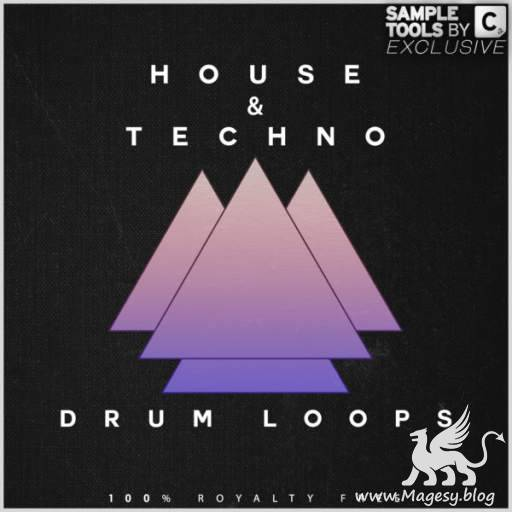 House and Techno Drum Loops WAV-DECiBEL