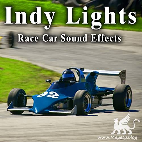 Indy Lights Race Car Sound Effects FLAC