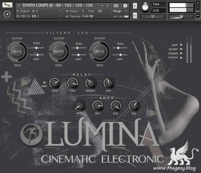 Lumina: Cinematic Electronic KONTAKT