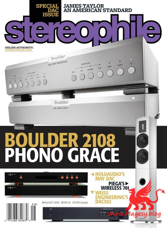 Stereophile August 2020