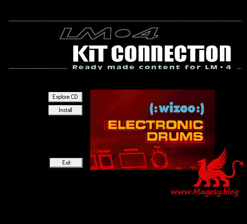 Wizoo Kit Connection Electronic Drums LM4-AI