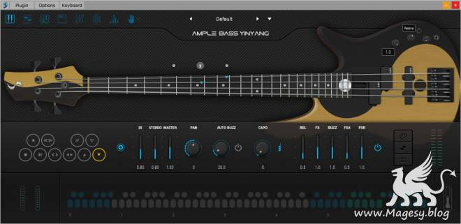 ABY Electric Bass v3.2.0 WiN MAC