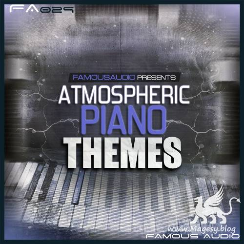 Atmospheric Piano Themes WAV MiDi