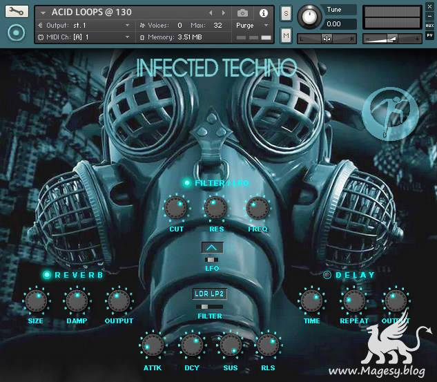 Chicago Loop Infected Techno KONTAKT