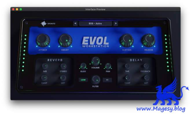 EVOL Workstation v1.0.0 VSTi WiN MAC-SYNTHiC4TE