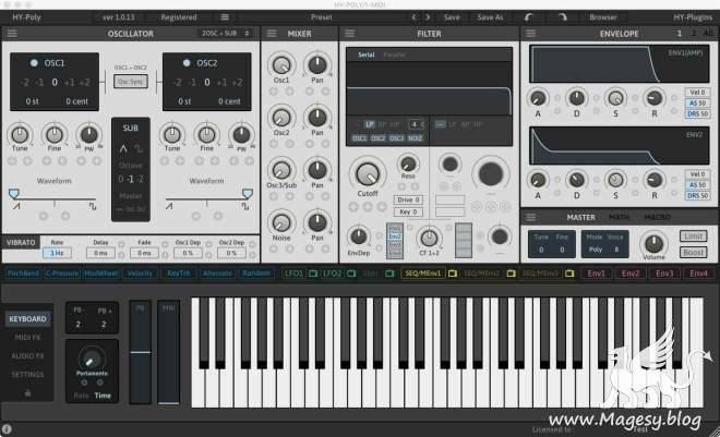 HY-POLY v1.1.2 WiN MAC-R2R