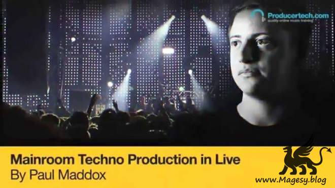 Mainroom Techno Production in Live TUTORiAL