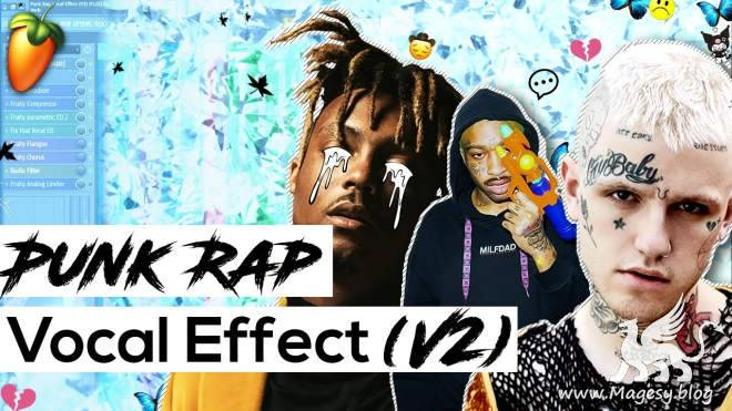 Punk Rap Vocal Effect V2 FLP