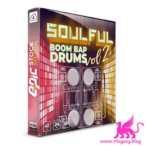 Soulful Boom Bap Drums Vol.2 WAV