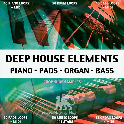 Deep House Elements WAV MiDi