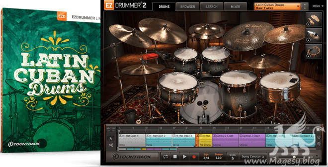 Latin Cuban Drums v1.0.1 EZX