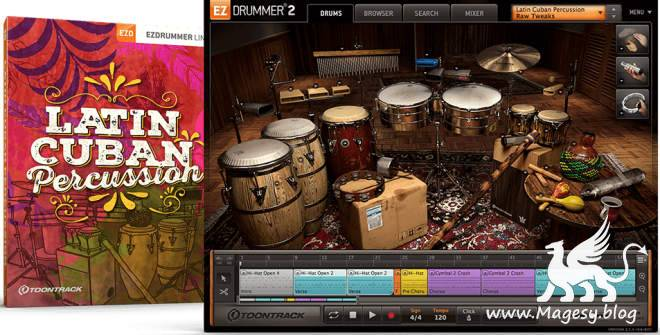 Latin Cuban Percussion v1.0.1 EZX
