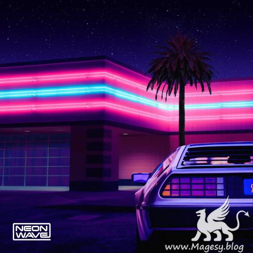 Night Time Nostalgia Retrowave Sounds WAV MiDi-FLARE