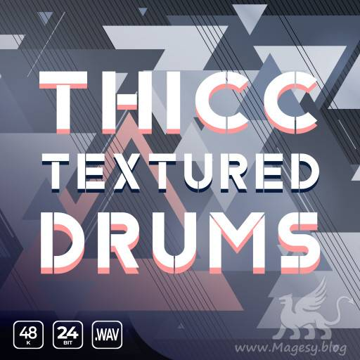 Thicc Textured Drums WAV
