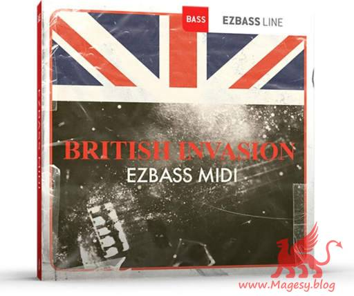 British Invasion EZbass MiDi