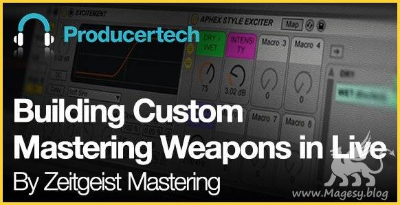 Building Custom Mastering Weapons in ABLETON