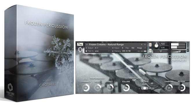 Frozen Percussion Crotales KONTAKT