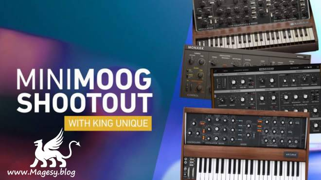 How To Use Minimoog Shootout TUTORiAL-SYNTHiC4TE