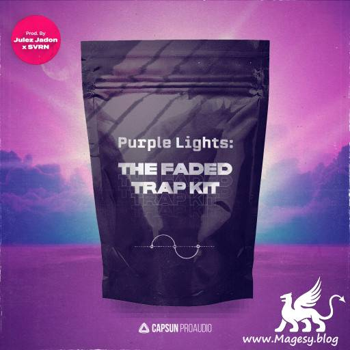 Purple Lights: The Faded Trap Kit