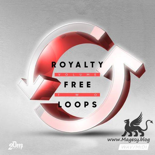 Royalty Free Loops Vol.2 WAV MiDi-DiSCOVER