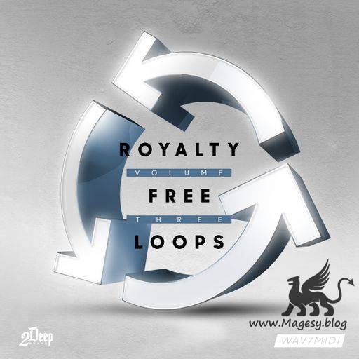 Royalty Free Loops Vol.3 WAV MiDi-DiSCOVER