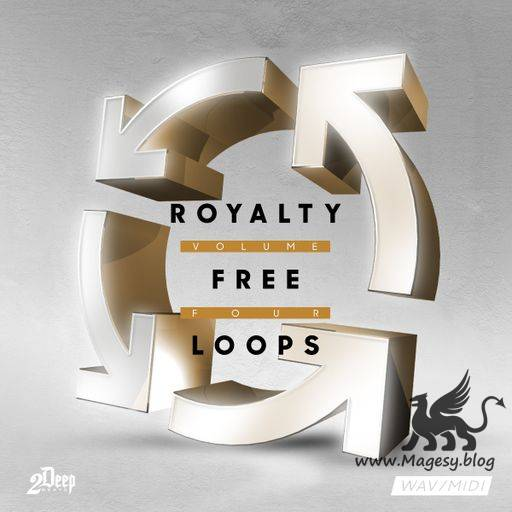 Royalty Free Loops Vol.4 WAV MiDi-DiSCOVER