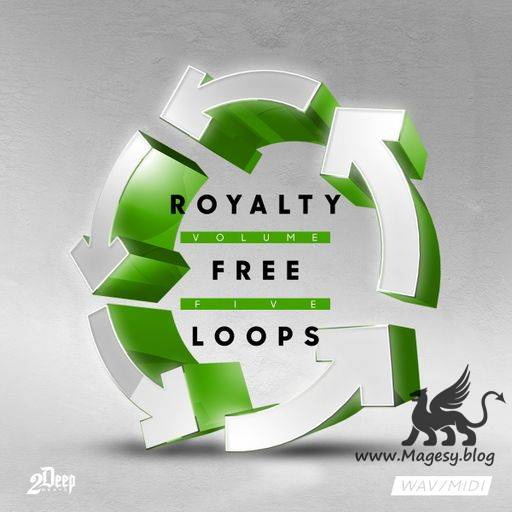 Royalty Free Loops Vol.5 WAV MiDi-DiSCOVER