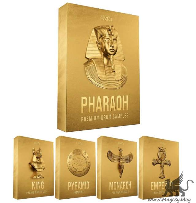 PHARAOH: Premium Drum Samples WAV MiDi