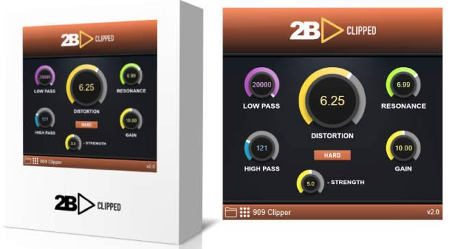 2B Clipped Distortion Plug-In WiN MAC