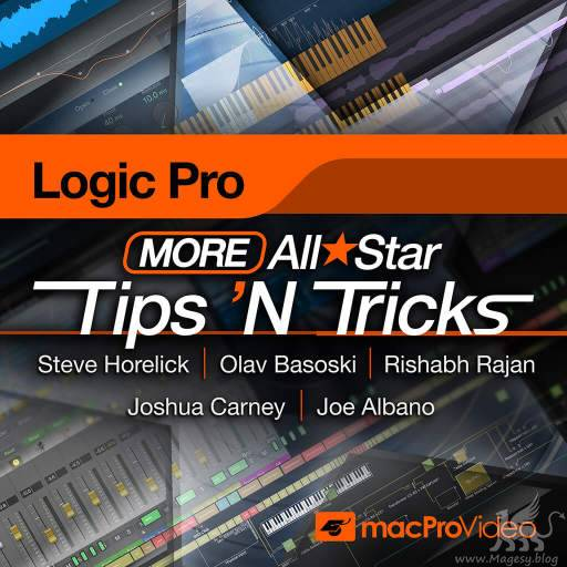 All Star Tips And Tricks Logic Pro X TUTORiAL