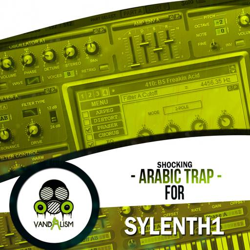 Arabic Trap SYLENTH1 MiDi