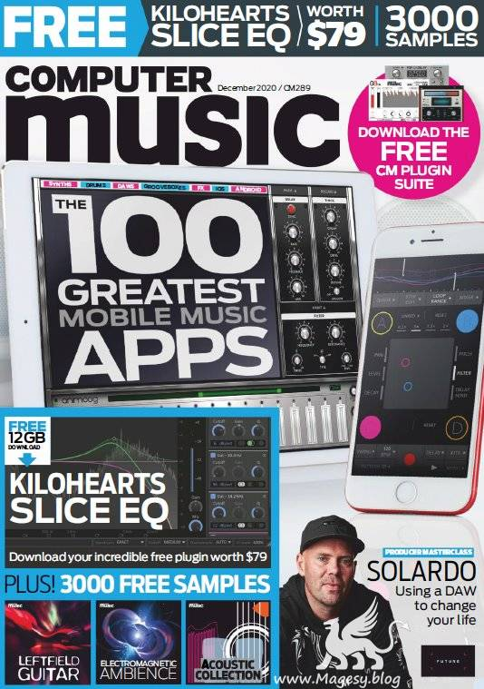 Computer Music 289 December 2020 PDF and DVD CONTENT