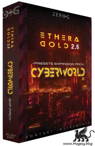 CyberWorld: Ethera Gold 2.5 EXPANSiON KONTAKT