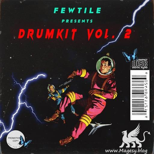 Fewtile Drum Kit Vol.2 WAV