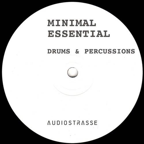 Minimal Essential Drums and Percussions WAV