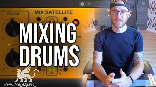 Mixing Drums TUTORiAL-DECiBEL