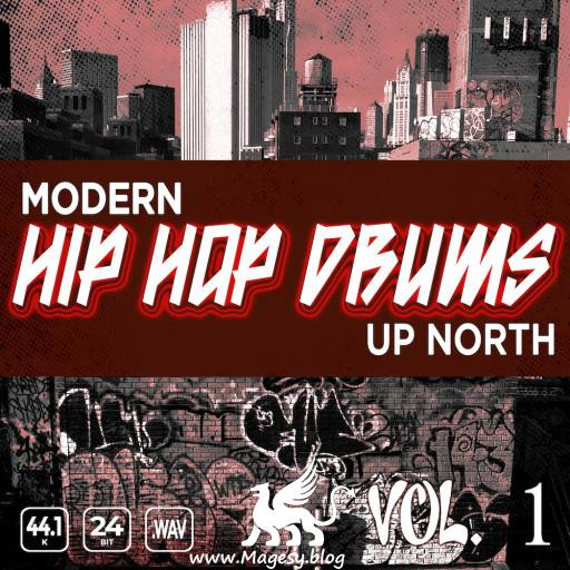 Modern Up North Hip Hop Drums Vol.1