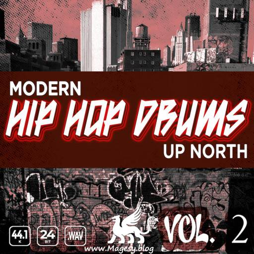 Modern Up North Hip Hop Drums Vol.2