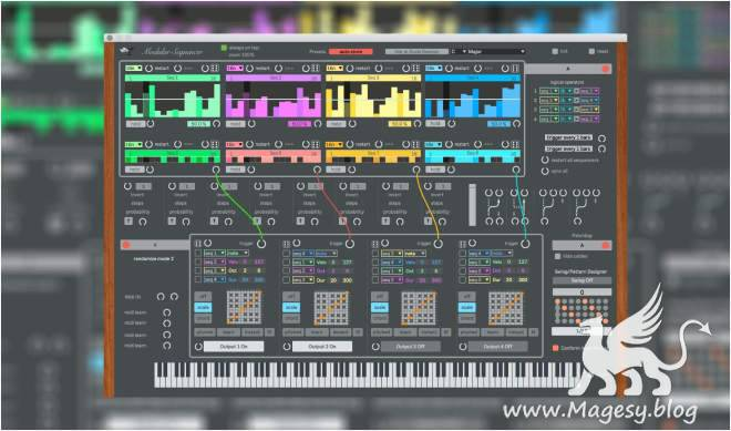 Modular Sequencer v1.0.5 For MAX 4 LiVE