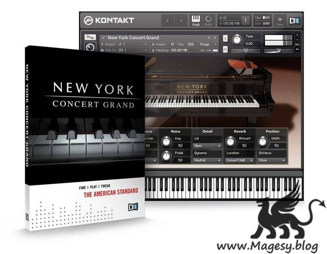 New York Concert Grand v1.3.0 LiTE KONTAKT