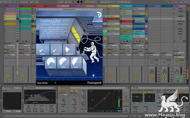 Parallax AU VST x64 WiN MAC RETAiL-DECiBEL