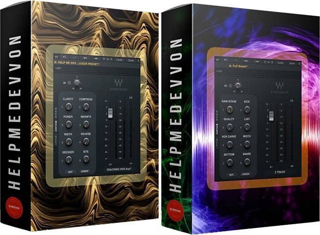 Studiorack VOCAL PRESETS