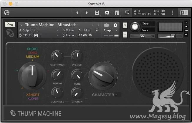 Thump Machine ABLETON LOGiC KONTAKT-DECiBEL