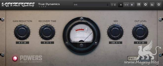 True Dynamics v.1.0.4 AU VST2 VST3 AAX x64 WiN MAC
