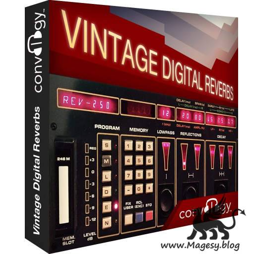Vintage Digital Reverbs (Impulse Responses)